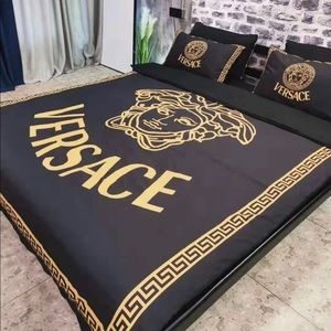 Branded Adult Print Cotton Bedding Set